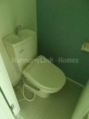 ハーモニーテラス西ヶ原Ⅱのトイレ