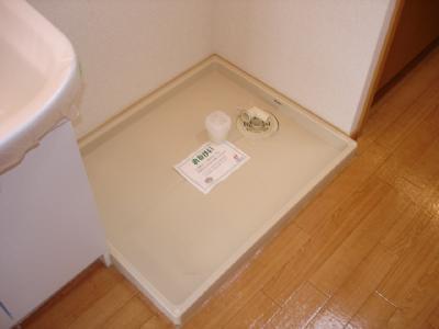 洗濯機室内設置可能