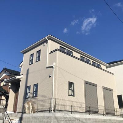 【外観】海老名市国分寺台2丁目 1号棟 新築一戸建 全2棟