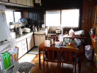 【キッチン】南アルプス市飯野中古戸建住宅