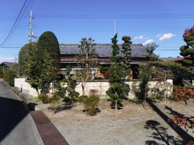【外観】南アルプス市飯野中古戸建住宅
