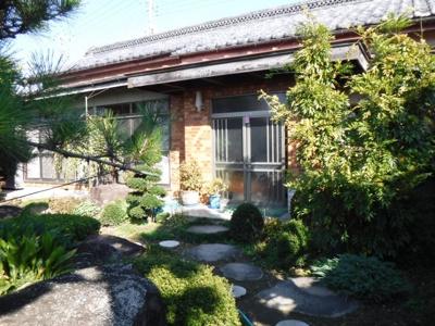 【庭】南アルプス市飯野中古戸建住宅