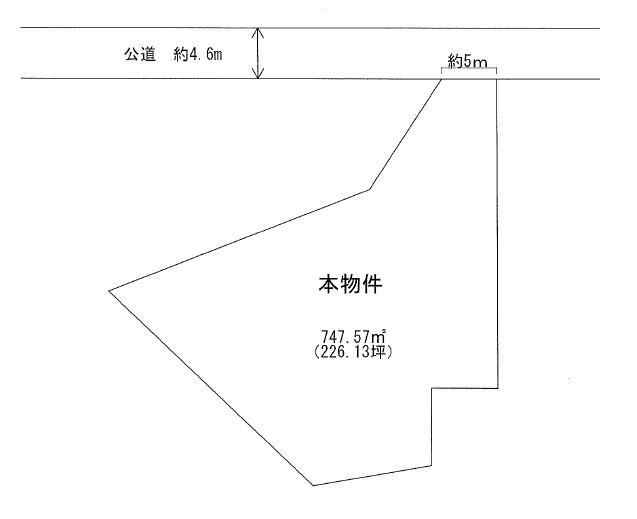 【土地図】米沢市成島町3丁目 土地