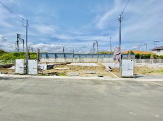 【前面道路含む現地写真】【販売開始】新築 大型分譲地 中島