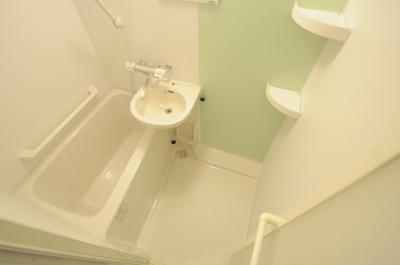 【浴室】クレイノキャロットハウス