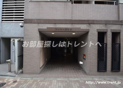 【エントランス】シャルム内神田