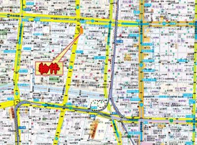 【地図】メゾンクレール
