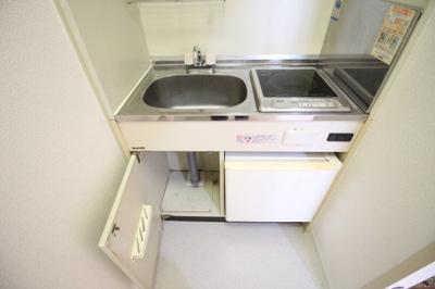 キッチン収納部分