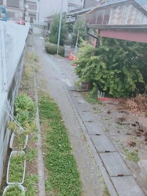 【前面道路含む現地写真】伏見区醍醐和泉町 新築戸建