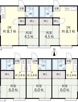 【外観】豊島区南大塚 1棟アパート