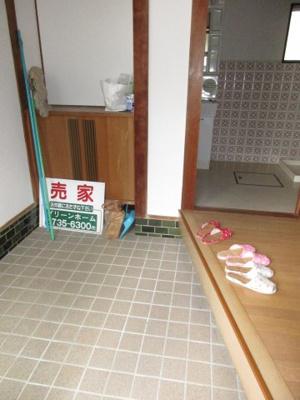 【玄関】須磨区妙法寺 中古戸建