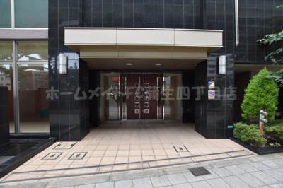 【エントランス】エステムプラザ大阪城パークフロント