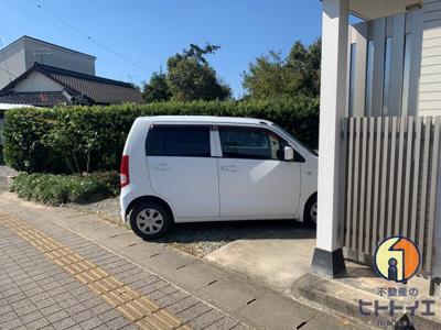 【駐車場】恋の木貸家