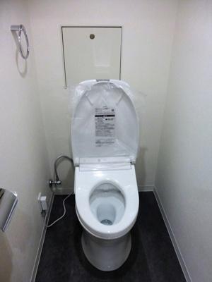 【トイレ】新松戸ユーカリパークハウスC棟