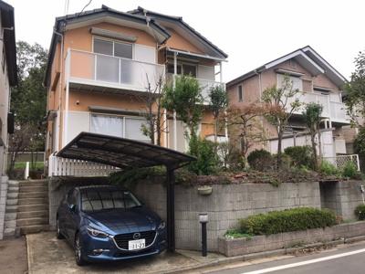 【外観】守谷市松ケ丘 ジョイフル本田・公園近く 南向き 古家付き