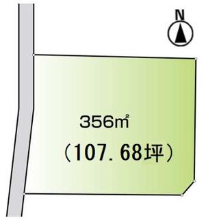【土地図】高崎市浜尻町売地