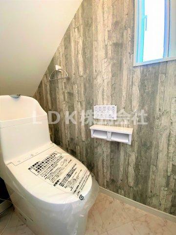 1F/トイレ 温水洗浄付き
