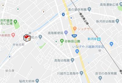 【地図】レオパレスFit One(38404-103)