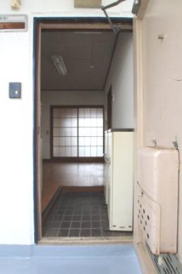 【玄関】栄コーポ