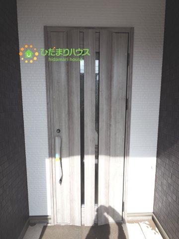 お洒落デザインのドア!