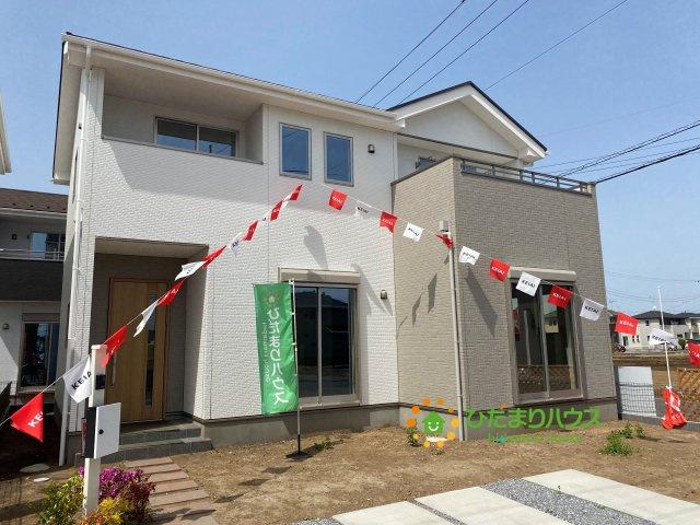【外観】古河市上辺見 6期 新築一戸建て 03