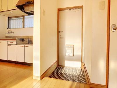 【玄関】サワサキアパート