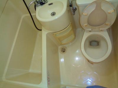【浴室】レジデンスピロー
