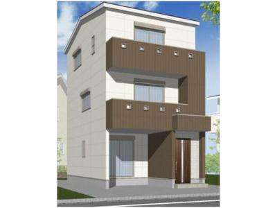 ■外観のデザインは、お客様にてデザイン可能です♪♪ ■3階建てもOK♪♪ ※別途費用が必要です