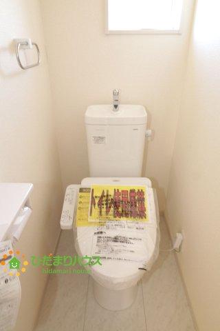 【トイレ】羽生市須影 新築一戸建て 05 リーブルガーデン
