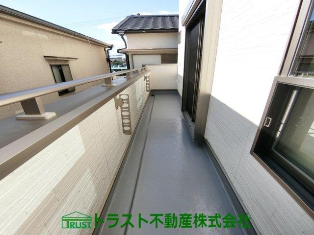 【バルコニー】神戸市垂水区本多聞3丁目 新築