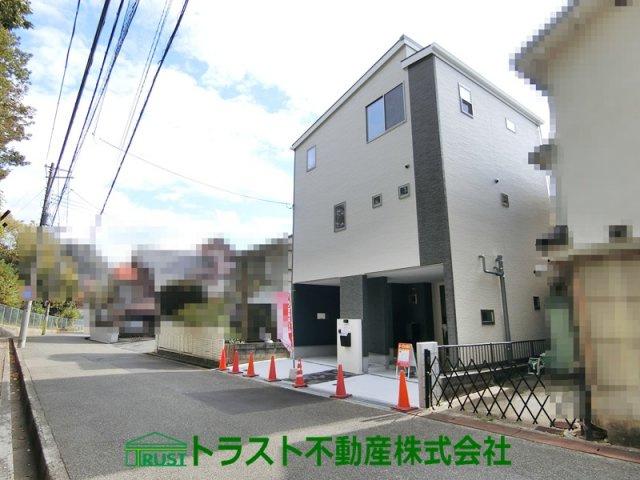 【前面道路含む現地写真】神戸市垂水区本多聞3丁目 新築