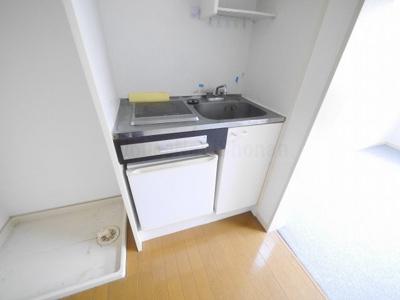 【キッチン】レオパレスカワナ