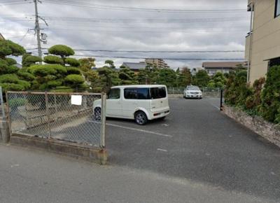 【外観】山中駐車場