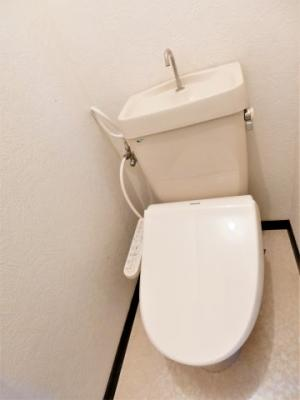 【トイレ】コーポメイプルB棟