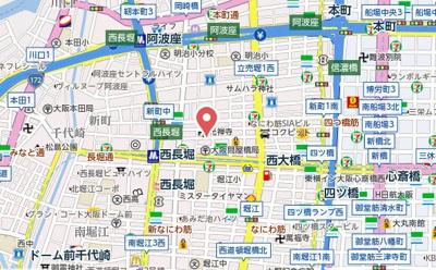 【地図】日東新町Dルーム