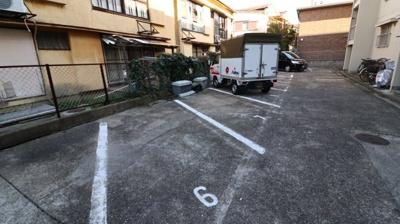 【駐車場】マンション五月