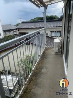 【バルコニー】大栄アパート