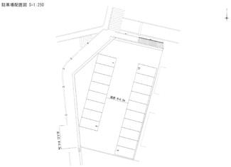 【区画図】老松4丁目駐車場