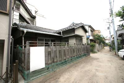 【外観】笠屋町平屋一戸建て貸家