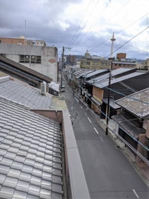 【展望】京都市下京区上数珠屋町通東洞院東入花屋町
