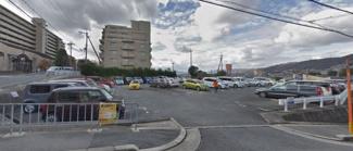 【外観】牧落5丁目月極駐車場