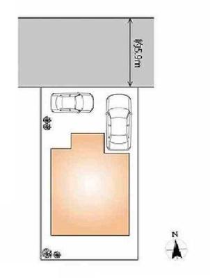 【区画図】新築戸建 長田区滝谷町2丁目
