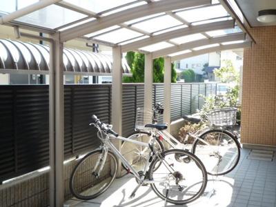 共用部内自転車置場
