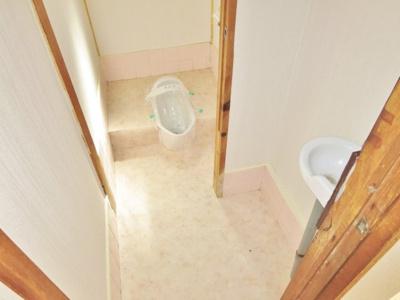 【トイレ】高鷲3丁目貸家