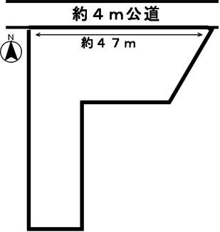 【区画図】50595 本巣市小柿土地
