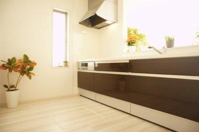 同社施工イメージ 使いやすいキッチンです