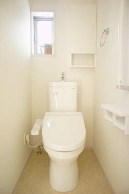 同社施工イメージ シンプルで使いやすいトイレです