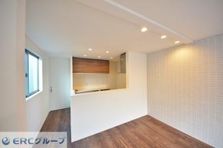 【キッチン】こだわりの間取り設備等が多数の新築戸建