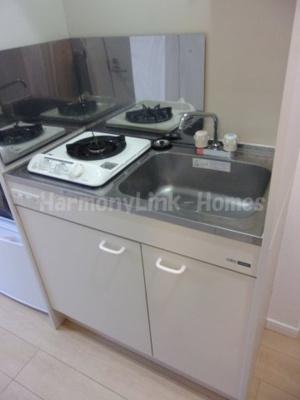 フェリスアベリアのコンパクトなキッチンで掃除もラクラク