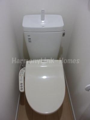 フェリスアベリアの落ち着いた色調のトイレです